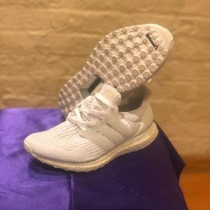 Adidas Ultra Boost all white size 8.